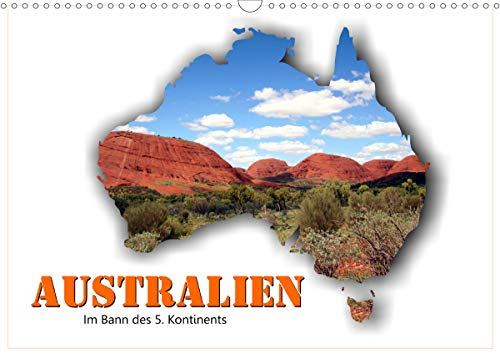 Australien - Im Bann des 5. Kontinents (Wandkalender 2021 DIN A3 quer)
