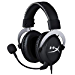 HyperX Cloud - Official Playstation Licensed Gaming Headset for PS4 with in-Line Audio Control, Detachable Noise Cancelling Microphone, Comfortable Memory Foam - Black (Renewed)