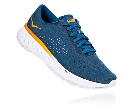 Hoka One 1099723 Cavu 2 Running Shoes, Corsair Blue/Bright Marigold, 9.5 D(M) US Men