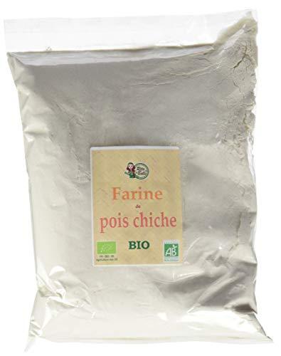 RITA LA BELLE Farine de Pois Chiche 1 kg - BIO - Lot de 4