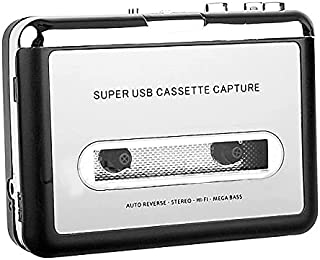 $29 » Sponsored Ad - Janryzone Cassette Player, Portable Cassette Tape to MP3 CD Converter Powered by Battery or USB,Convert Wal...