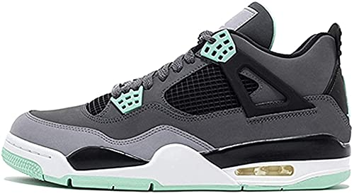 CPBY 2021 Zapatos De Baloncesto Men4 Zapatos Deportivos Resistentes Al Desgaste De La Descompresión Transpirable, Gray-Green - 11