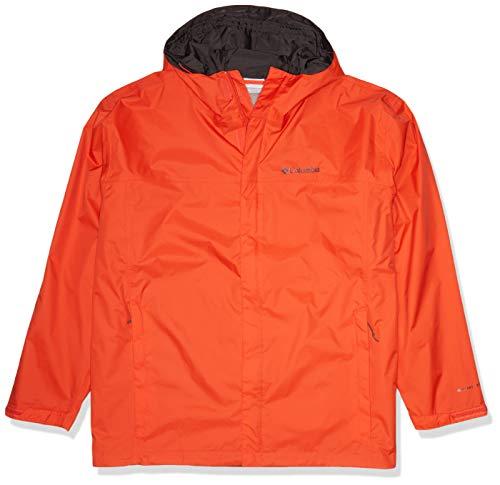 Columbia Men's Watertight II Waterproof, Breathable Rain Jacket, Wildfire, X-Large