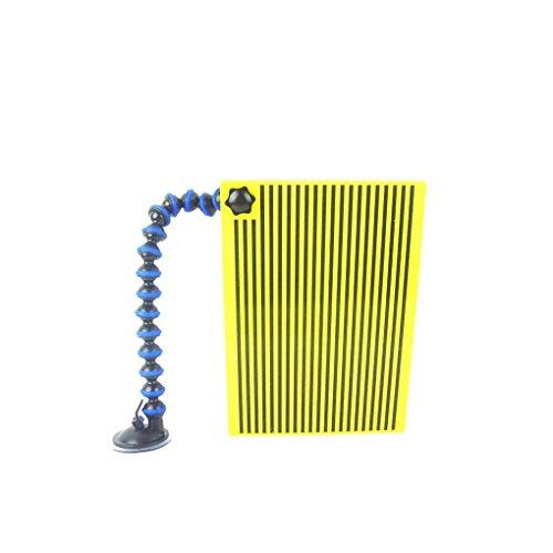 Morza Einzigartiges Werkzeug Line Board Reflektorboard mit justierbarer Halter Gelb