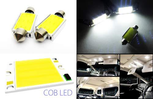 2 x Blanc 264 265 578 C5 W 42 mm Ampoule Navette CANBUS COB LED Éclairage intérieur carte de dôme Courtois lumière