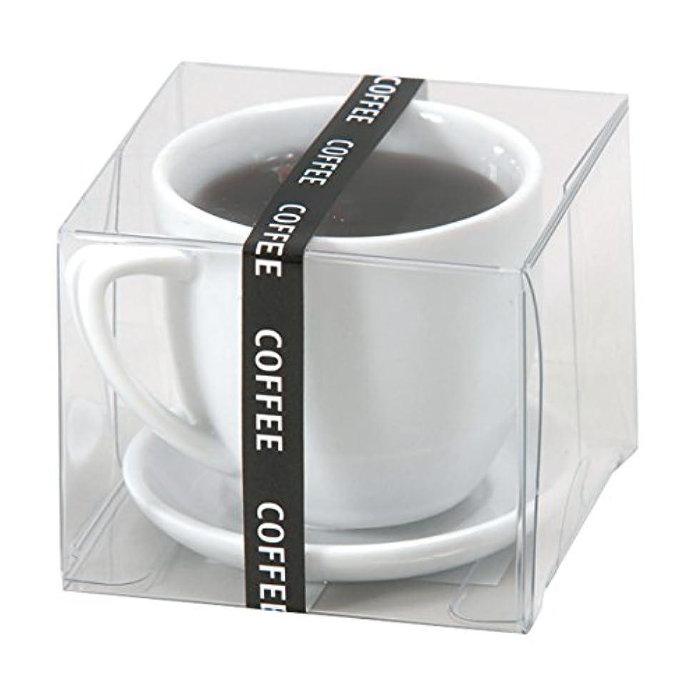 険しいストリーム共感するホットコーヒー ローソク