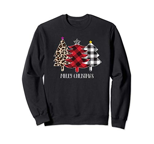 Merry Christmas, Wild Christmas Trees Sweatshirt
