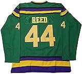 Kooy Fulton Reed #44 Mighty Ducks Movie Hockey Green Jersey (2XL)