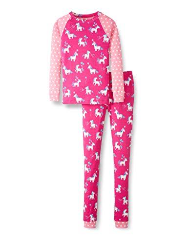 Hatley Organic Cotton Raglan Long Sleeve Printed Pyjama Set Juego de Pijama para Niñas