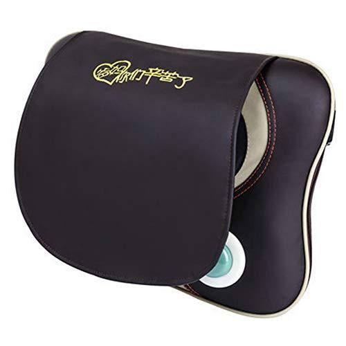 Pc-Hxl Massagegeräte für NackenRücken Massagekissen Shiatsu mit Wärmefunktion und 3D-rotierenden Massageköpfen für Muskelschmerzen Erleichterung Nackenmassagegerät für Auto Büro Zuhaus