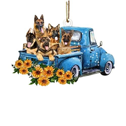 Youjin Boston Terrier-hondenliefhebber voor in de auto, klassiek ornament, schattige cartoonvorm voor thuis-autodecoratie