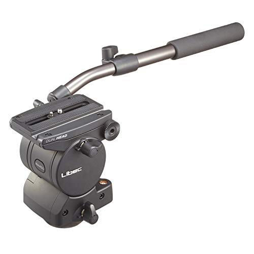 Libec RH45D Head with PH-6B Pan Handle, 26.5 lbs Payload