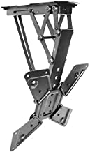 VIVO Electric Motorized Flip Down Pitched Roof Ceiling TV Mount for 23