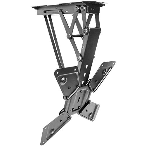 """VIVO Electric Motorized Flip Down Pitched Roof Ceiling TV Mount for 23"""" to 55"""" Screen (MOUNT-E-FD55), Master Pack"""