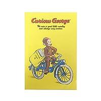 おさるのジョージ ポストカード (自転車) 14155