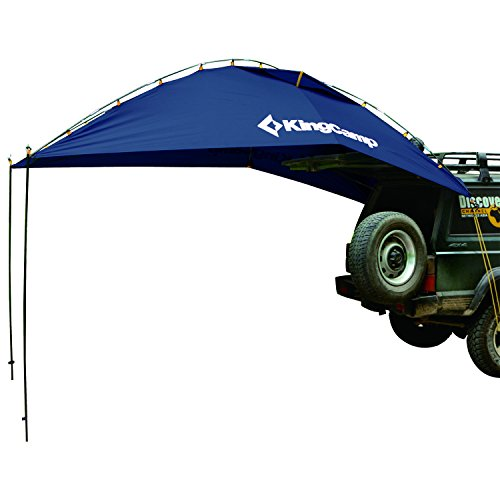 KingCamp Awning Sun Shelter SUV Tent Auto Canopy Portable Camper Trailer Tent Roof Top Car Shelter for Beach, SUV, MPV, Hatchback, Minivan, Sedan, Camping, Outdoor