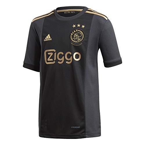 adidas Amsterdam Temporada 2020/21 AJAX 3RD JSY Y Camiseta Tercera equipación, Niño, Negro, 128