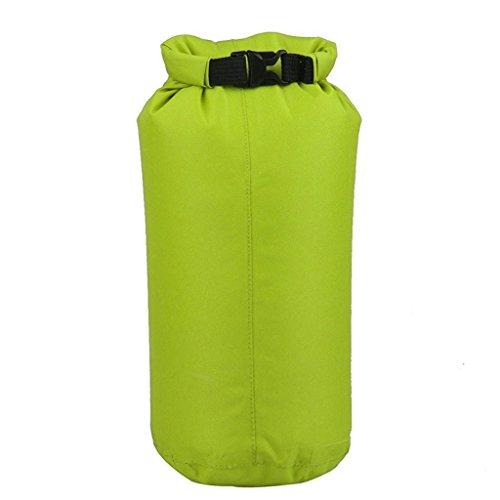 Yeah67886 Portable étanche Sports Dry Bag Pouch pour canoë en bateau Kayak Rafting (Vert 15L)