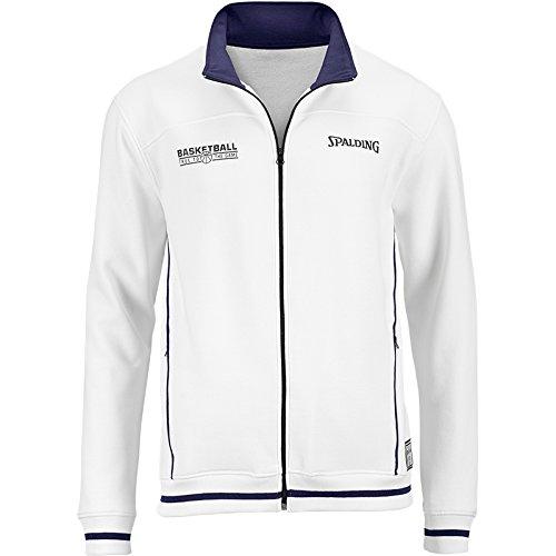 Spalding - Equipe - Veste Zippé - Homme -Blanc (Marine) - Taille: XXXXL