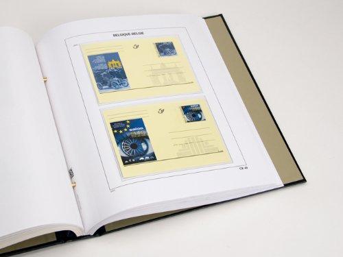 DAVO 21952 Luxus Vordrucke Belgien Postkarten 2012