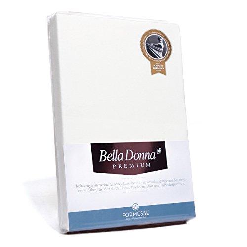 Formesse Bella Donna Premium Spannbetttuch Weiss, 90x190-100x220 cm
