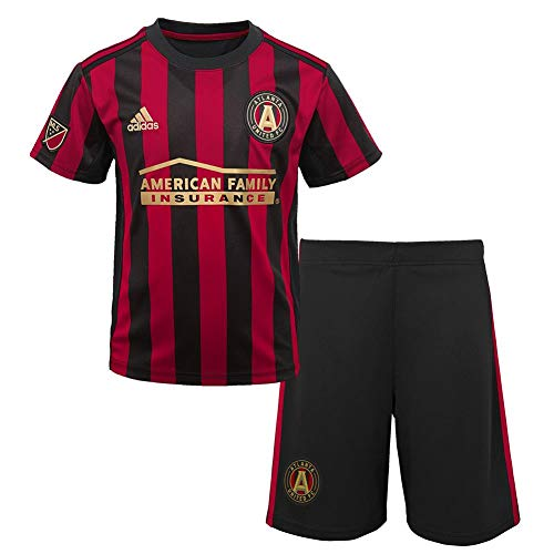 Outerstuff Toddler Atlanta United FC Soccer Kit Baby Jersey/Short Set (2T)
