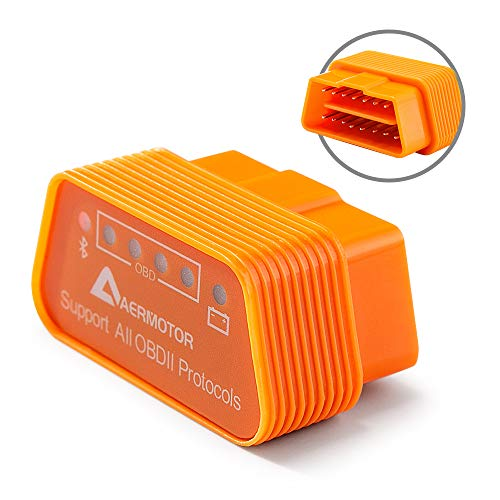 Lowest Price! Aermotor ELM327 Bluetooth 4.0 OBD2 Automotive Scanner & Reader Tool for iOS & Android ...