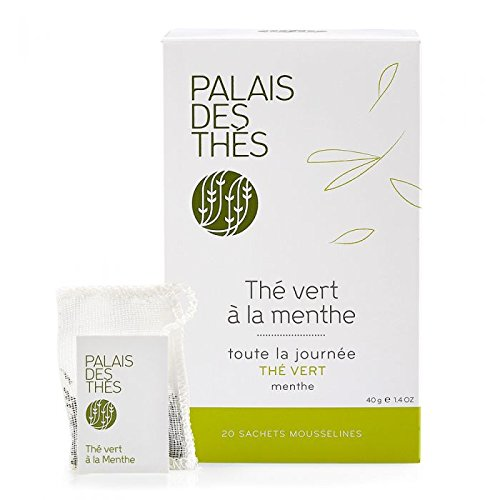 Palais des Thés Large special price !! Green Tea with Max 71% OFF Bags 1.4oz 20 Mint 40g
