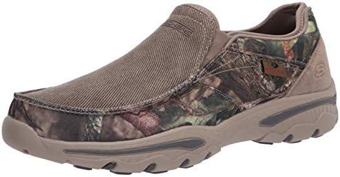 Skechers Men s Creston Moseco Slip On Canvas Loafer Camouflage 10 Medium US product image