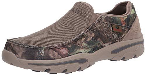 Skechers Men's Creston-Moseco Slip On Canvas Loafer, Camouflage, 7.5 Medium US