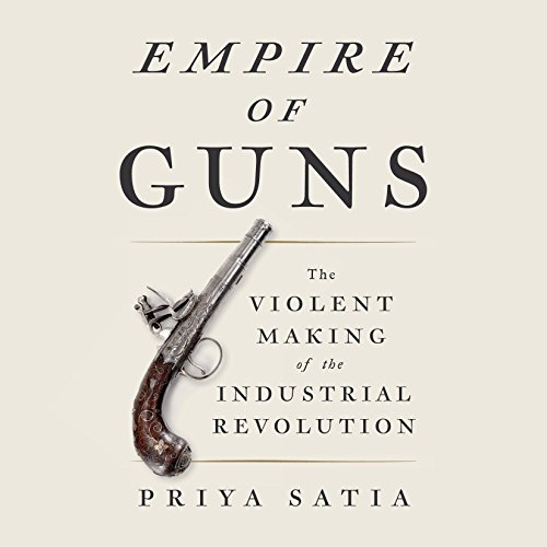 Empire of Guns audiobook cover art