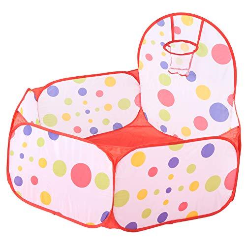 SALUTUYA Piscina de Bolas para bebés Tienda de campaña para bebés Tienda de Juegos para niños Bolas de Bolas para niños pequeños Piscina de Bolas para niños pequeños