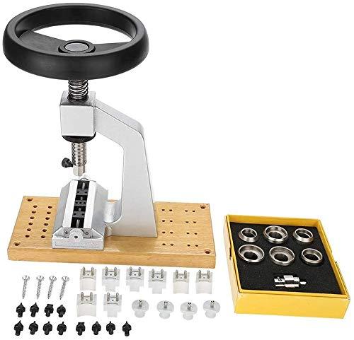 LNDDP Uhrengehäuseöffner, Benchs Uhrengehäuseöffner 5700 Armbanduhr-Werkzeug-Rückenöffner mit 6 Matrizen für die Uhrmacherreparatur