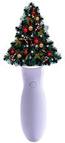 ruisteu Kerstboom handlicht 5 kleuren knipperen warm glad oppervlak lamp voor kerstdecoratie 21 cm