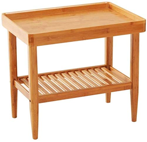 Coffee Table Floor-standing Side Table, Small On Sofa, Living Room Home Tea Table, Balcony Square Table -Workbench
