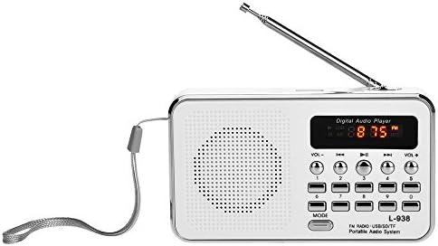 Docooler L 938 Mini FM Radio Digital Portable 3W Stereo Speaker MP3 Audio Player High Fidelity product image