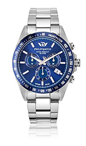 Philip Watch R8273607005 - Movimentatore per orologi da uomo, collezione CARIBE, in...