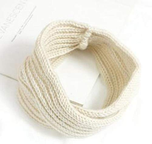 Turbantes para Mujer Diademas Women Crochet Turban Headband Warm Elastic Head Wrap Bandage Headbands Lady Hats Girls Hair Accessories 19