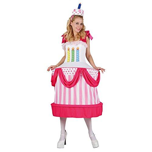 Unbekannt AptafêtesDamen-Kostüm Geburtstagstorte, Gr.M/L, cs925762