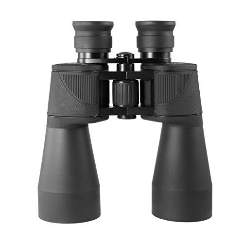 TS-Optics Fernglas mit Breitband Multivergütung, Langer Augenabstand, sehr Lichtstark (10-fache Vergrößerung - TS1060LE, Schwarz)