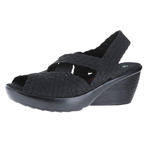 bernie mev. Womens Brighten Black Sandal 41 (US Womens 10.5) M