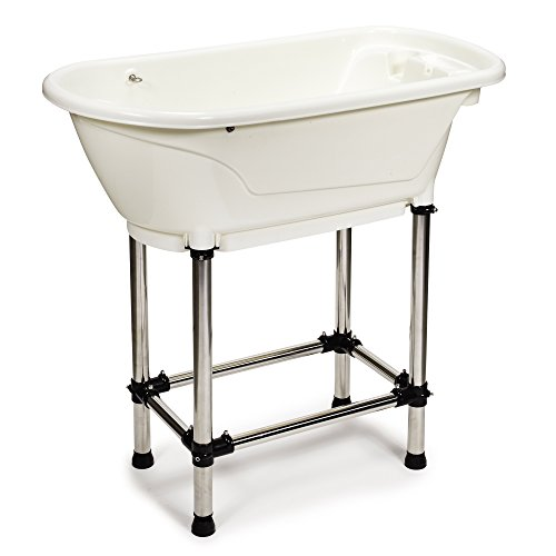 Master Equipment Bathe & Go Dog Groomer's Tub,...