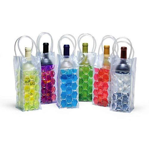 La Botella de Vino Congelador Bolsa de refrigeración refrigerador de Hielo Bolsa de Cerveza de refrigeración Portador del Gel Portador de la Bolsa Cubos Holder fgyhty
