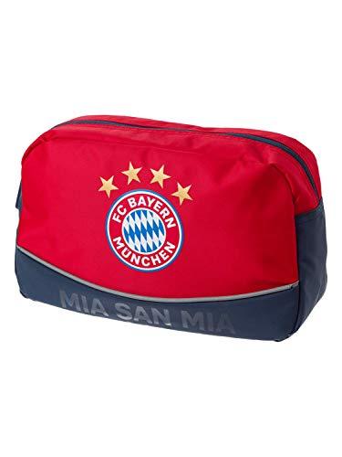 FC Bayern München Kulturbeutel MIA SAN MIA rot Geschenk FCB