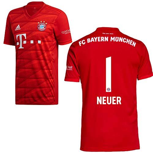 adidas FCB FC Bayern München Trikot Home Heimtrikot 2019 2020 Kinder Neuer 1 Gr 140