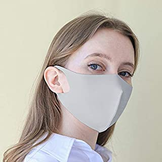 洗える抗菌クールマスク 秋用 涼しい ひんやり 接触冷感 男女兼用 紫外線対策 UV99%以上カット 消臭効果 フィット感 耳が痛くなりにくい 呼吸しやすい 立体構造 繰り返し使える デザイン ファッションマスク