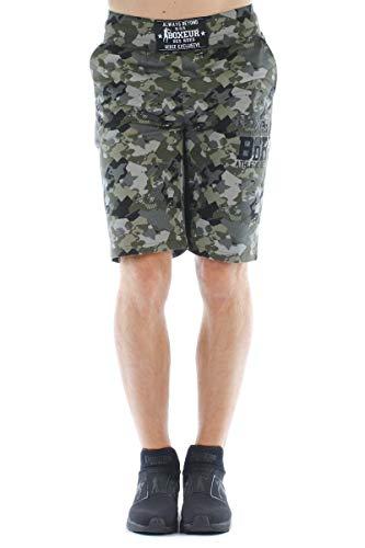 BOXEUR DES RUES - Pantaloni Corti in Jersey con Stampe, Uomo, XS