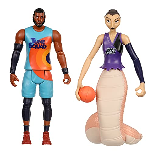 SPACE JAM: A New Legacy - 2 Pack - On Court Rivals - Lebron & White Mamba
