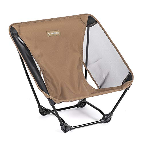 Helinox Ground Chair Ultralight, Portable Outdoor Chair, Coyote Tan
