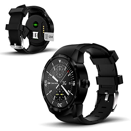 New 1.3-inch SmartWatch by Indigi [Android 4.4.2 OS + Android Compatible + DualCore CPU]